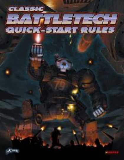Role Playing Games - Classic BattleTech Quick-Start Rules