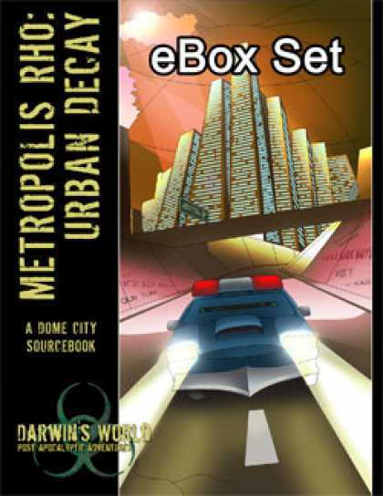 Role Playing Games - Darwin's World: Metropolis Rho eBox Set