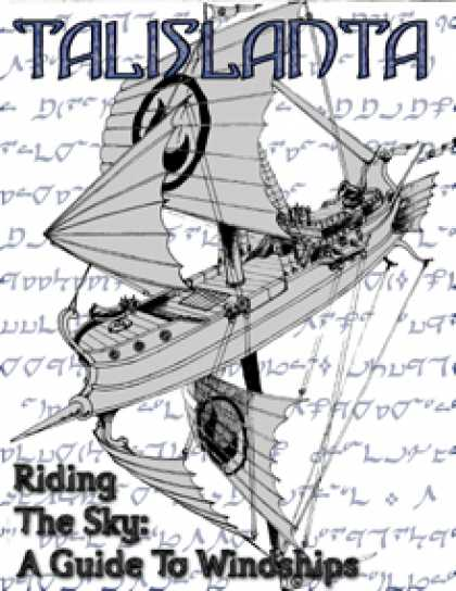 Role Playing Games - Riding The Sky: A Guide to Windships