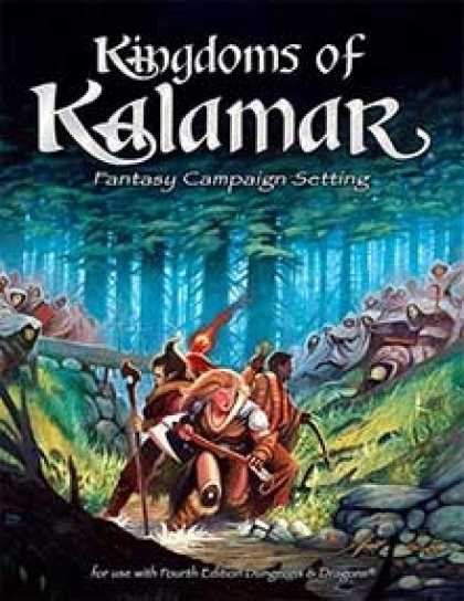 Role Playing Games - Kingdoms of Kalamar 4th edition campaign setting