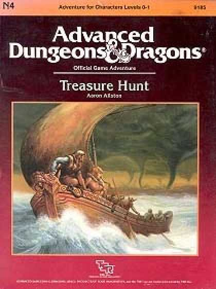 Role Playing Games - N4 - Treasure Hunt