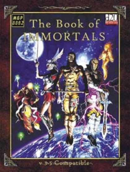 Role Playing Games - The Book of Immortals
