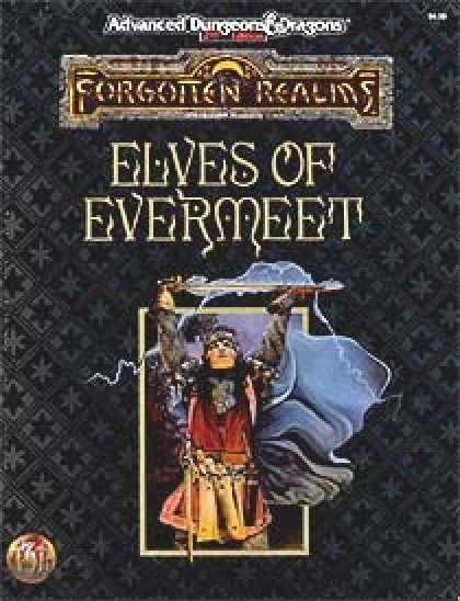 Role Playing Games - Elves of Evermeet