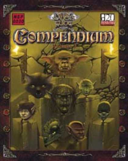 Role Playing Games - Slayer's Guide Compendium, Volume I