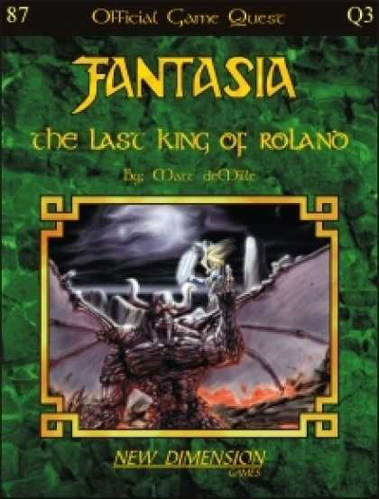 Role Playing Games - Fantasia: The Last King Of Roland--Quest Q3