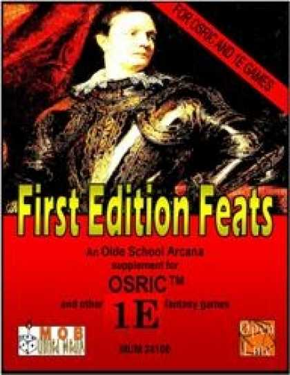 Role Playing Games - First Edition Feats