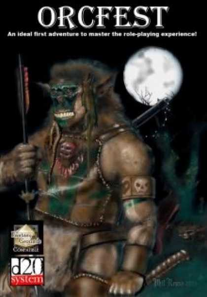 Role Playing Games - Orcfest - PDF & Fantasy Grounds Adventure