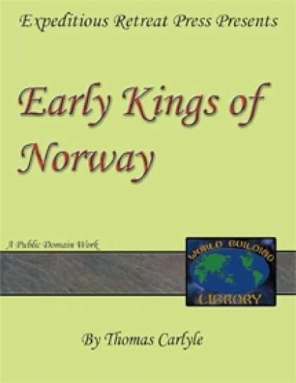Role Playing Games - World Building Library: Early Kings of Norway