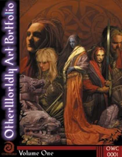 Role Playing Games - OtherWorldly Art Portfolio Volume One