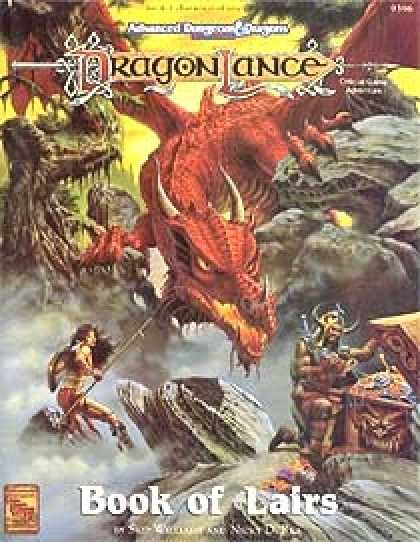 Role Playing Games - Dragonlance - Book of Lairs