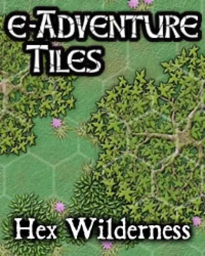 Role Playing Games - e-Adventure Tiles: Hex Wilderness