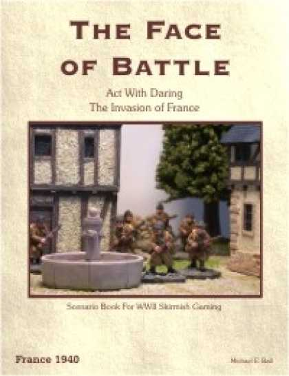 Role Playing Games - Act With Daring, France 1940 Scenario Book