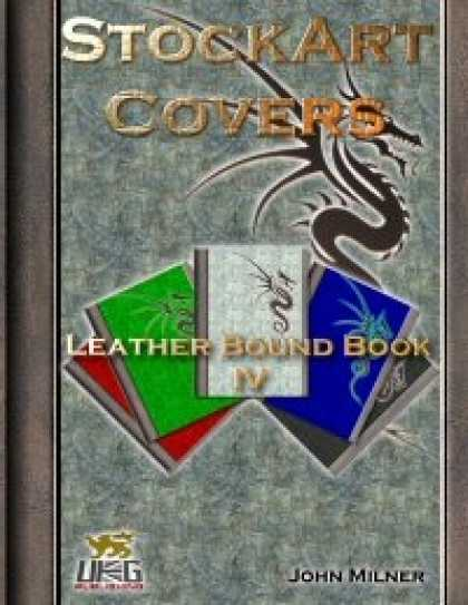Role Playing Games - StockArt Covers: Leather Bound Book IV