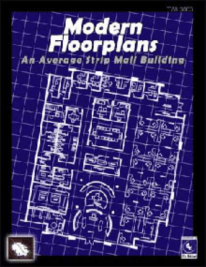 Role Playing Games - Modern Floorplans: Strip Mall Building