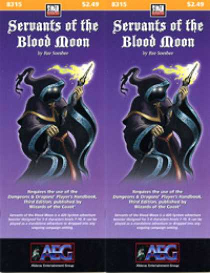 Role Playing Games - Servants of the Blood Moon