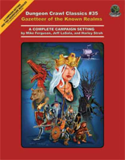 Role Playing Games - Dungeon Crawl Classics #35: Gazetteer of the Known Realms