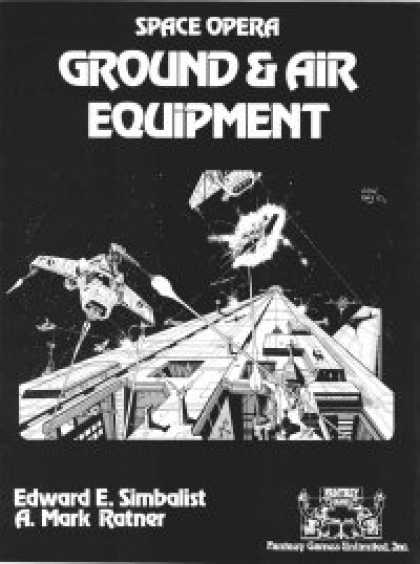 Role Playing Games - Space Opera: Ground & Air Equipment