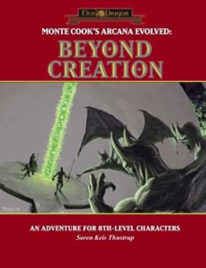 Role Playing Games - Arcana Evolved: Beyond Creation