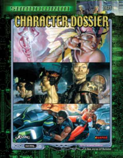 Role Playing Games - Shadowrun Character Dossier