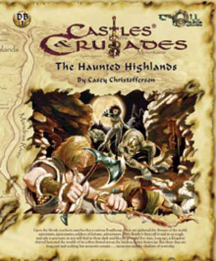 Role Playing Games - C&C DB1 Haunted Highland