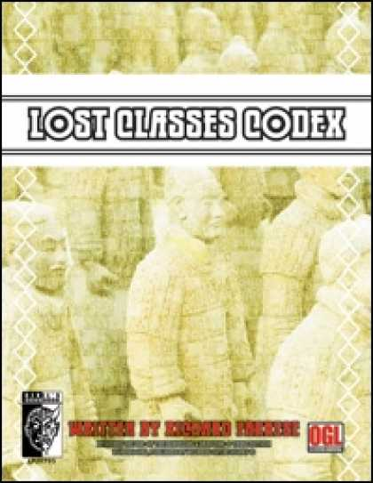 Role Playing Games - Lost Classes Codex