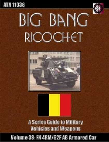 Role Playing Games - Big Bang Ricochet 038: FN 4RM/62F AB Armored Car
