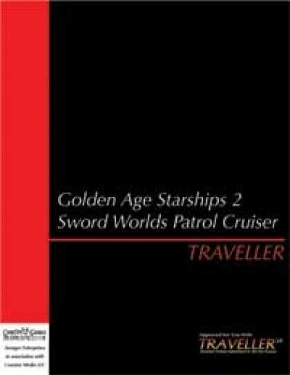 Role Playing Games - Traveller Golden Age Starships 2: Sword Worlds Patrol Cruiser