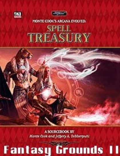 Role Playing Games - Arcana Evolved - Spell Treasury for Fantasy Grounds II