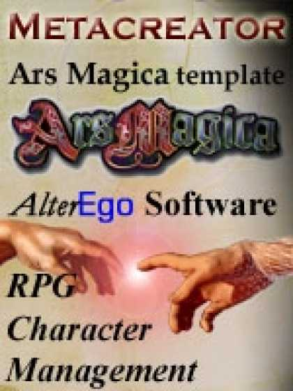 Role Playing Games - Ars Magica 5th Edition Template