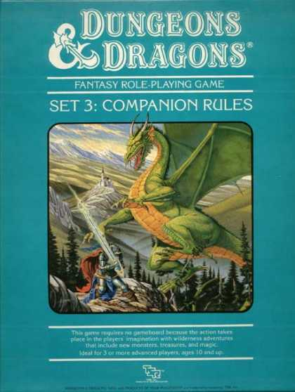 Role Playing Games - Dungeons & Dragons Companion Set