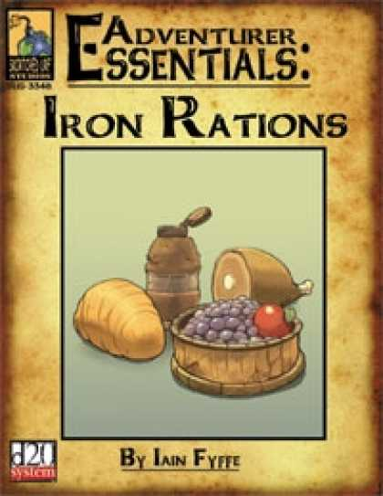 Role Playing Games - Adventurer Essentials: Iron Rations