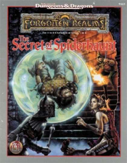 Role Playing Games - The Secret of Spiderhaunt