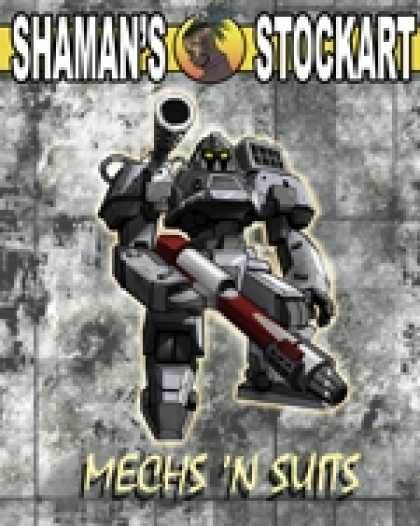 Role Playing Games - Shaman's Stockart Mechs 'n Suits