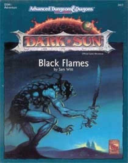 Role Playing Games - Black Flames