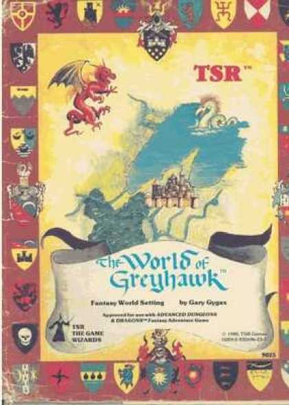 Role Playing Games - The World of Greyhawk