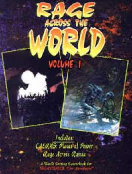 Role Playing Games - Rage Across the World Volume 1