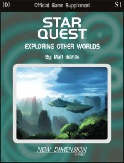 Role Playing Games - Starquest: Exploring Other Worlds--Supplement S1