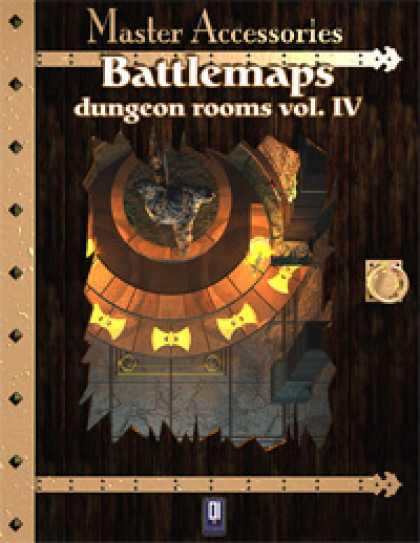 Role Playing Games - Battlemaps: Dungeon Rooms Vol.IV
