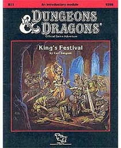 Role Playing Games - B11 - King's Festival