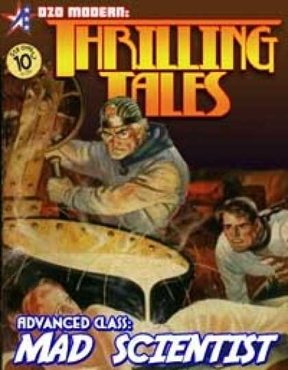 Role Playing Games - THRILLING TALES: Advanced Class-MAD SCIENTIST
