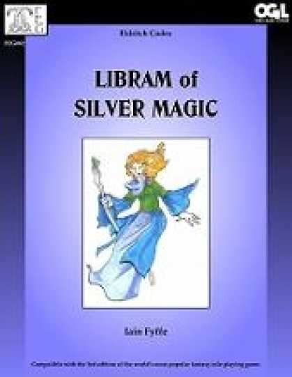 Role Playing Games - Eldritch Codex: Libram of Silver Magic