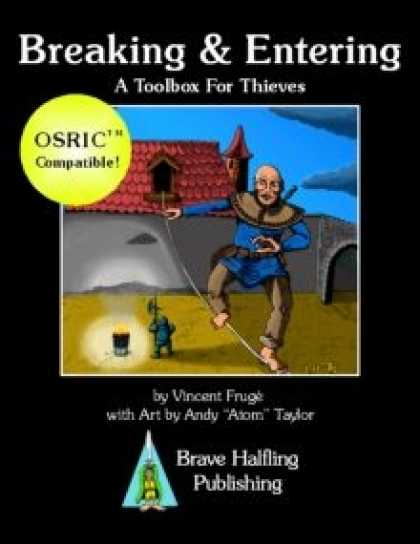 Role Playing Games - Breaking & Entering: A Toolbox for Thieves