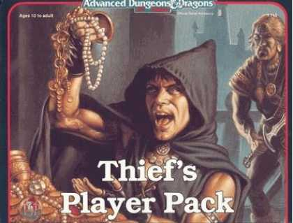 Role Playing Games - Thief's Player Pack