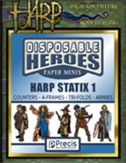 Role Playing Games - Disposable Heroes HARP Statix 1