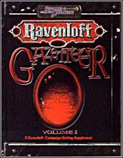 Role Playing Games - Ravenloft Gazetteer I
