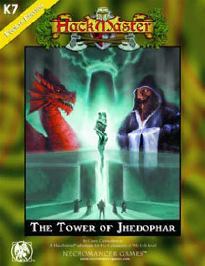 Role Playing Games - Tower of Jhedophar