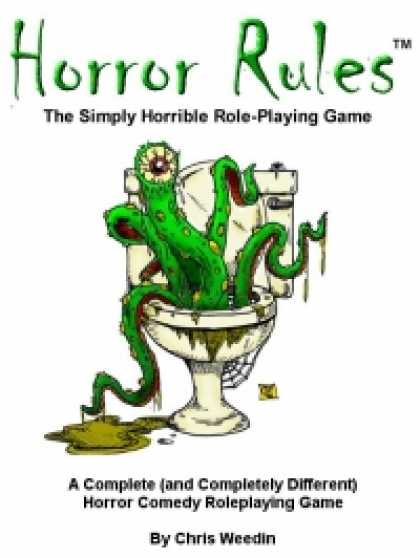 Role Playing Games - Horror Rules, The Simply Horrible Roleplaying Game