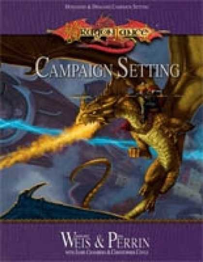 Role Playing Games - Dragonlance Campaign Setting