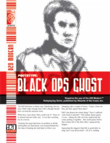 Role Playing Games - Prototype: Black Ops Ghost