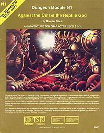 Role Playing Games - N1 - Against the Cult of the Reptile God